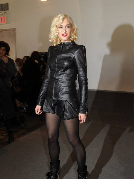 Gwen Stefani leather   Leather   Pinterest Gwen Stefani