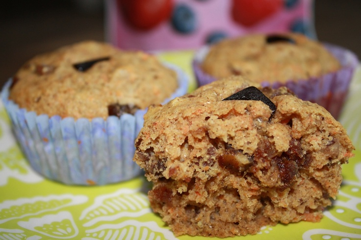 SunRype Paleo Diet Carrot Muffins (Gluten-free and Dairy-free ...