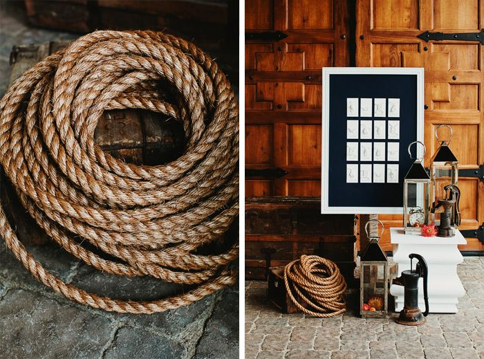 Fun Nautical theme ideas at Casa Real by Tinywater Photography, http://tinywater.com