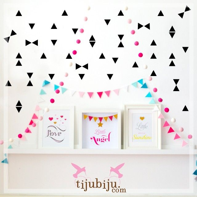 Pink glitter poster board