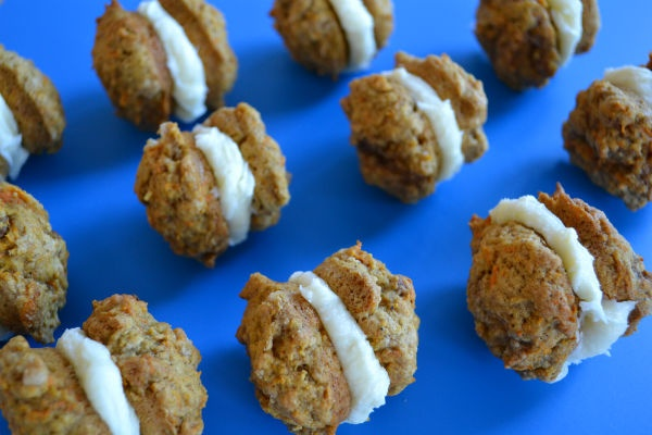 Carrot Cake Whoopie Pies for Easter