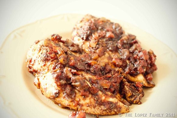 Dance For 5: Braised Balsamic Chicken | Yummmmm! | Pinterest