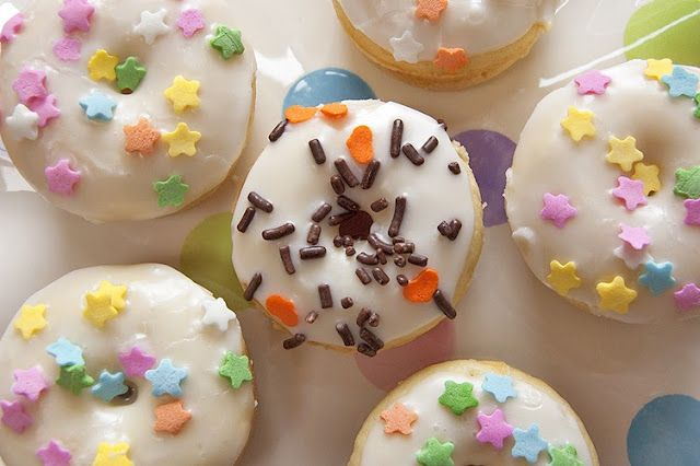 mini baked donuts | Donuts | Pinterest