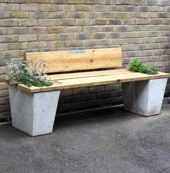 DIY Garden Benches Garden Party Pinterest