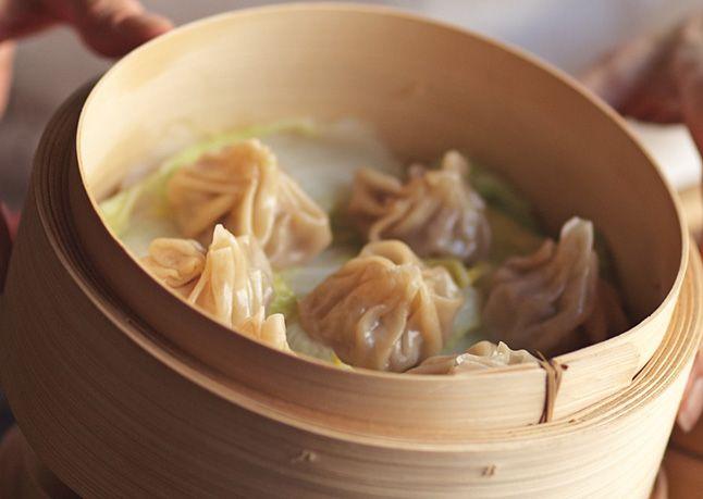 Shanghai Soup Dumplings | hors d' oeuvres | Pinterest