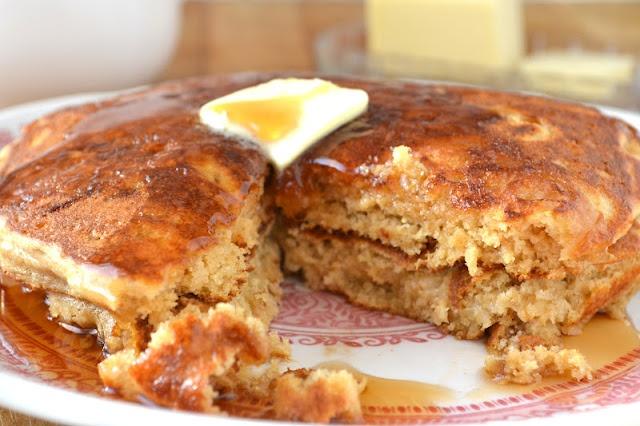 Whole Wheat Oatmeal Pancakes   Recipes - Breakfast   Pinterest
