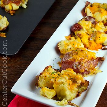 Smashed Potatoes with Cheese | Recipe