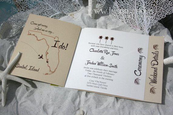 wedding invitations booklet style by inspirationsbyamiele on etsy 50