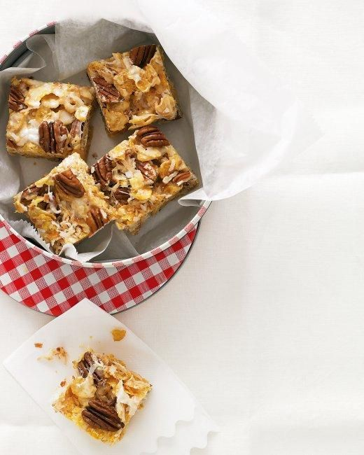 Easy Cookie Recipes // Coconut-Pecan Cereal Bars Recipe