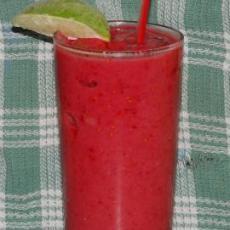 Banana Raspberry Smoothie (Vegan) | Drinks | Pinterest