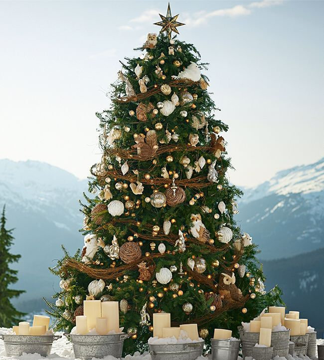 Pottery Barn Christmas Tree | Home Decor Ideas/Furniture | Pinterest