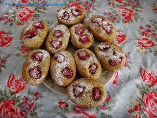 Raspberry and pistachio financiers | Cookie / Candy Bliss | Pinterest