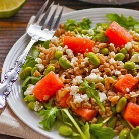 Roasted Beets With Edamame & Arugula Recipes — Dishmaps