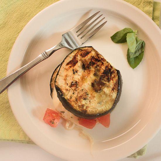 eggplant mozzarella sandwiches | BBQ | Pinterest