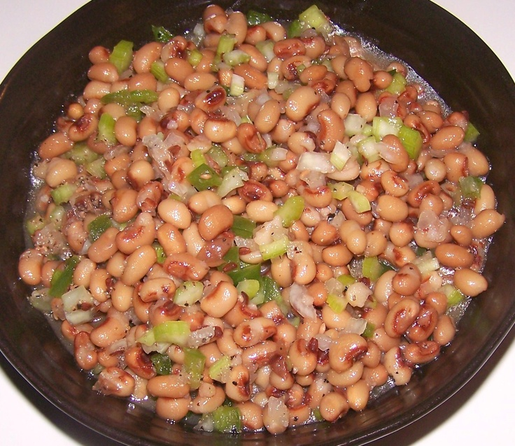 "Slow Cooker ""Good Luck"" black eyed peas. I just made this last nigh..."