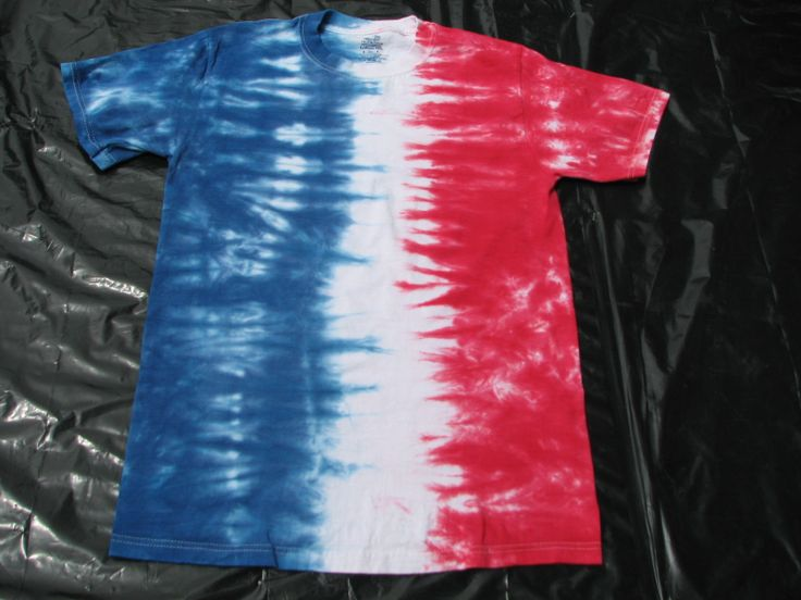 Red White And Blue Tie Dye 4th Of July Party Pinterest
