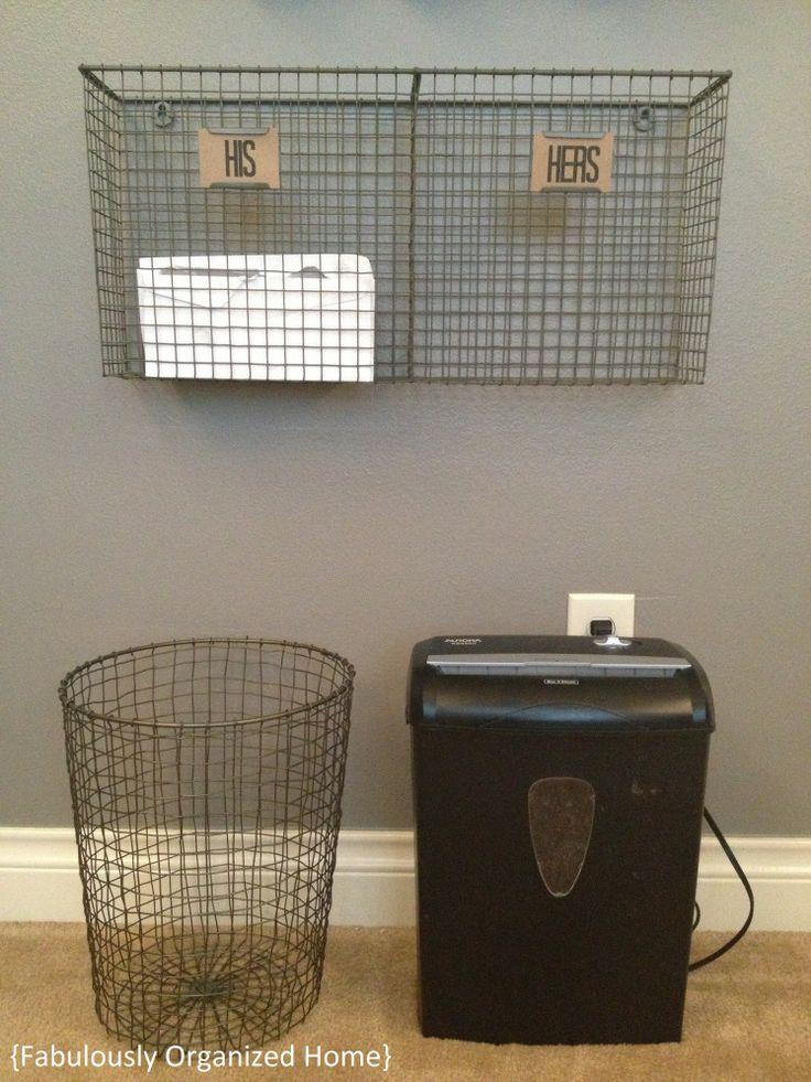 home mail sorting outer order brings inner calm pinterest. Black Bedroom Furniture Sets. Home Design Ideas