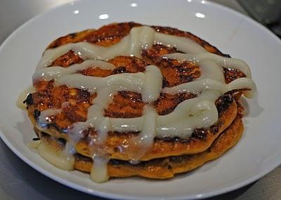 Pumpkin Cinnamon Roll Pancakes | Food: Breads, Muffins, Cakes | Pinte ...