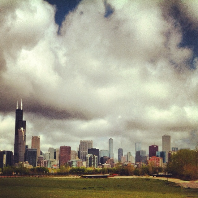 Just like that... #chicago