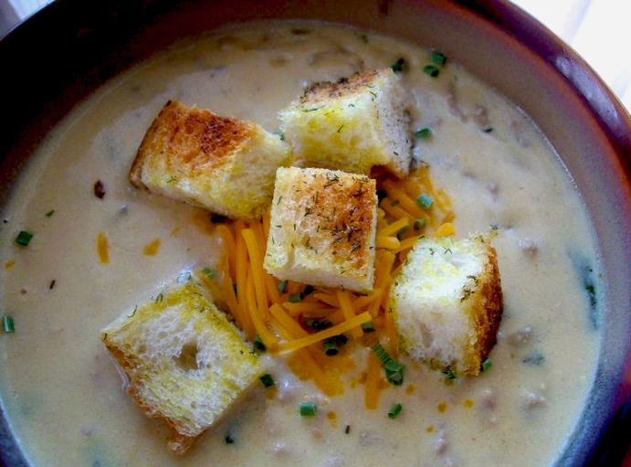 Cheeseburger Soup | Soups On | Pinterest