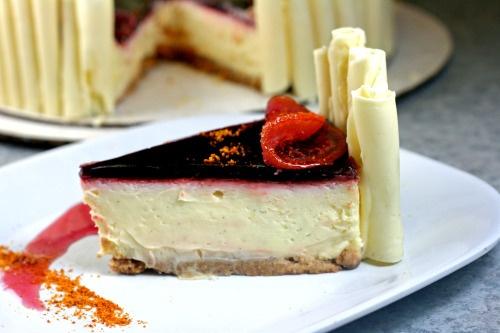 Blood Orange Cheesecake | Sin | Pinterest