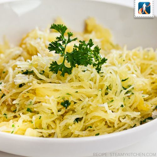 ... .com/11285-baked-spaghetti-squash-with-garlic-and-butter.html