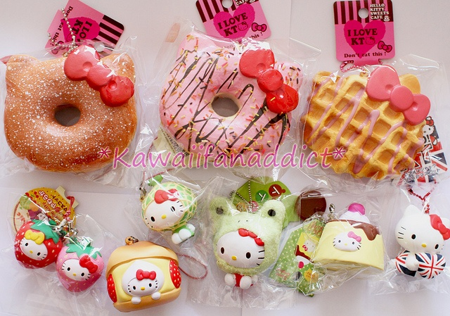 Hello kitty squishy cake ideas and designs for Squishy ideas
