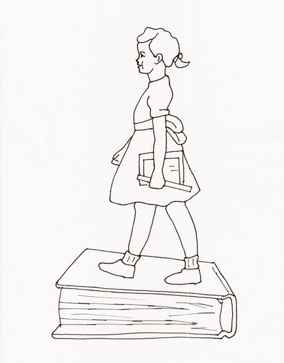 ruby bridges coloring page i searched and searched the