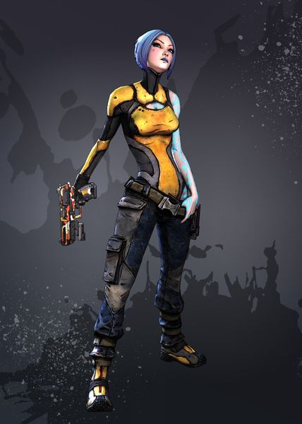 Maya - Borderlands 2 Concept Art | Borderlands | Pinterest