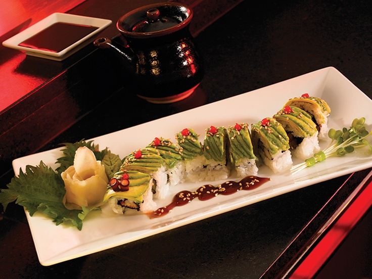 RED SUSHI CATERPILLAR ROLL | Vacations | Pinterest