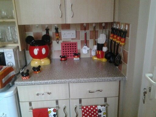 My Mickey Mouse Kitchen Mad About Mickey Pinterest