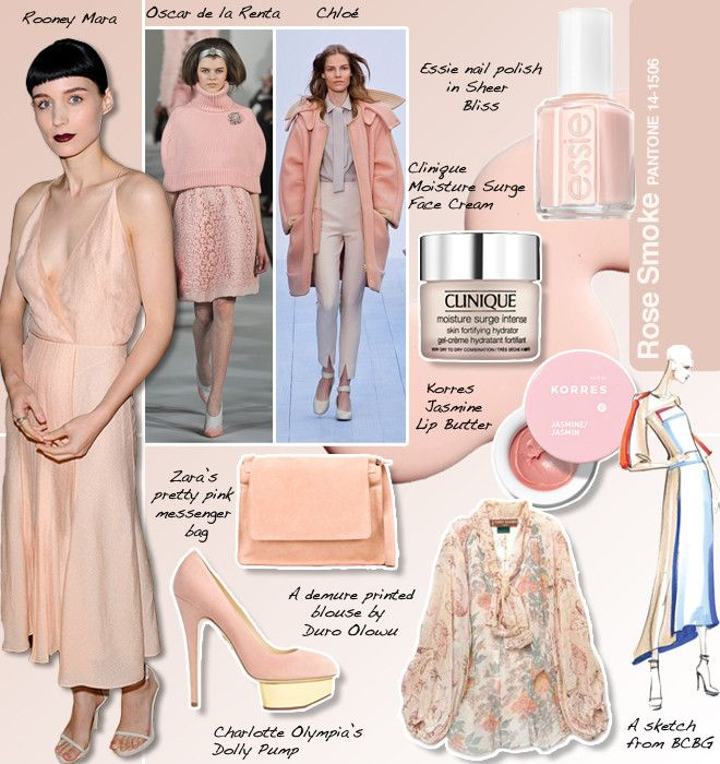 Pantone Rose Smoke #14-1508 And The Fashion And Beauty Trends That Match (PHOTOS)