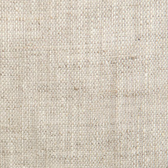Handkerchief Linen Fabric- Natural Oatmeal Color: Light weight- Almost ...