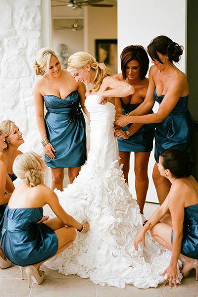 75+ ideas for a blue wedding color palette