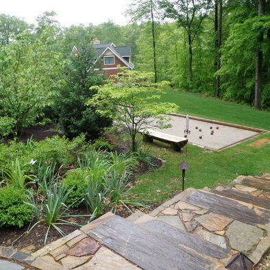bocce ball court yard stuff pinterest