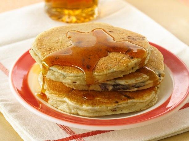 Chocolate Chip Pancakes Recipe from Betty Crocker