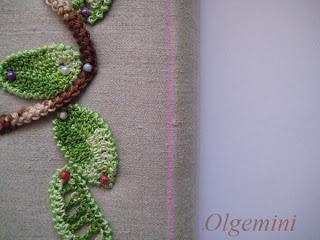 Crochet Uneven Edges : Irish crochet - even edge of uneven net http://outstandingcrochet ...