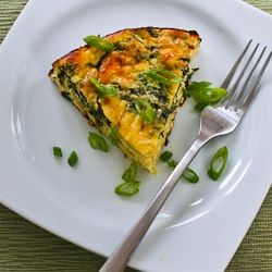 Artichoke, Kale, and Ricotta Pie with Eggs and Parmesan (Low-Carb, Gl ...