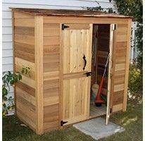 6 x 3 grand garden chalet storage shed