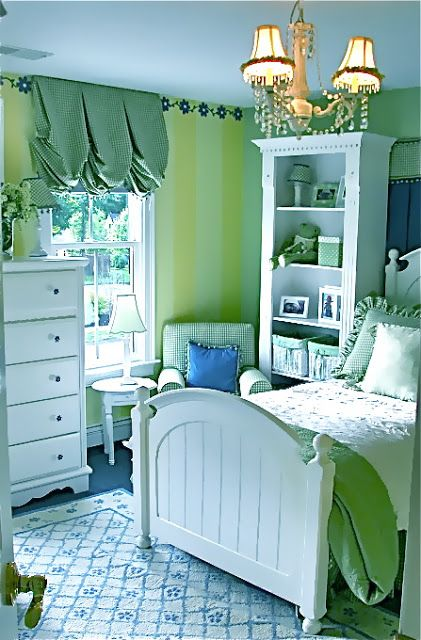Blue And Green Bedroom Captivating 2018