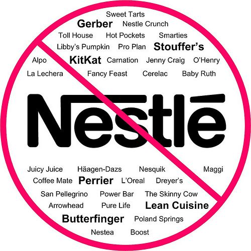 NO Nestle!