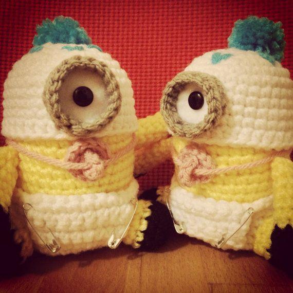 Baby Minion PDF Pattern Crochet Amigurumi Doll Plush