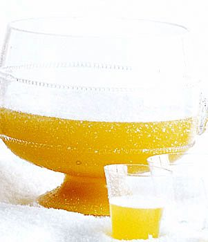 Nonalcoholic NYE Drink: Ginger Pineapple Sparkling Punch