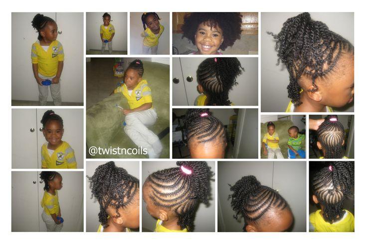 kids short hairstyles : Kids Braided Ponytail Hairstyles 56981 Braided side ponytail