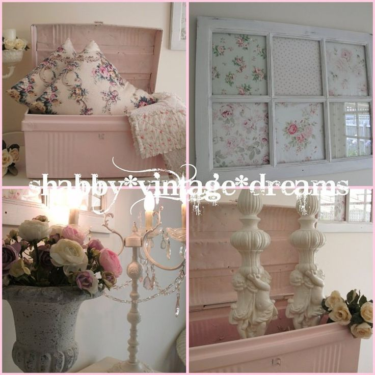 Shabby chic decor shabby chic pinterest for Style shabby chic decoration