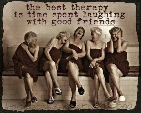 Quotes About Best Friends And Laughter : Laughing with friends thing better
