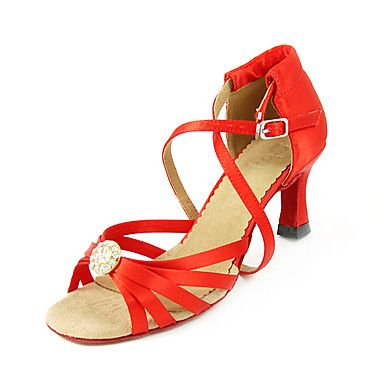 Lace-up Latin Dance Shoes Ballroom Shoes for Women USD $ 29.99