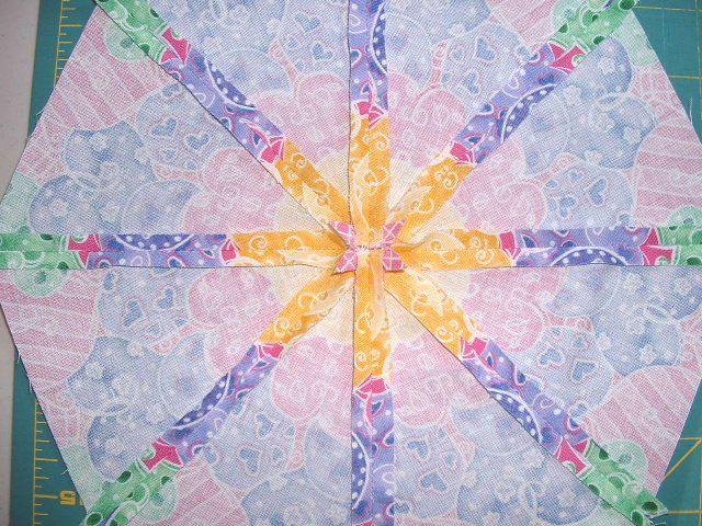 Kaleidoscope Quilt Block Instructions Quilting & Sewing Pinterest