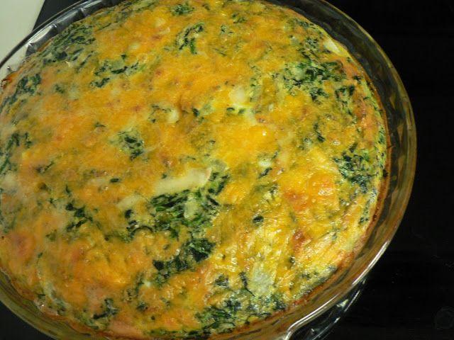 onion and rosemary crustless quiche cheesy crustless quiche recipe ...