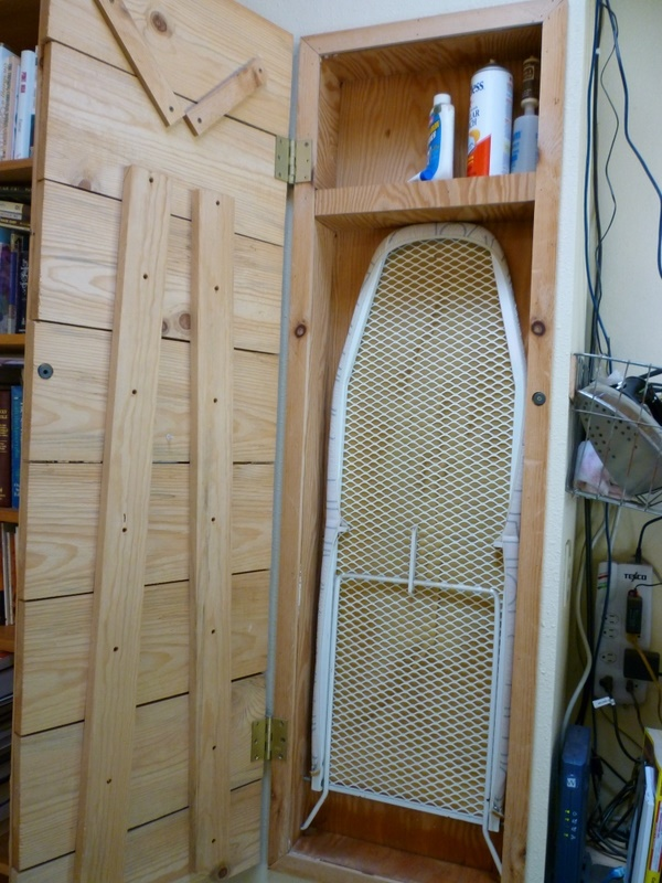 How to Make a Built in Ironing Board  eHow.com